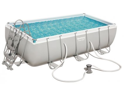 Bazén s konstrukcí 404 x 201 x 100 cm se schůdky a filtrací