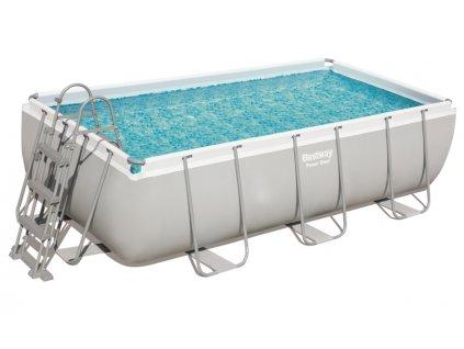 Bazén s konstrukcí 404 x 201 x 100 cm se schůdky