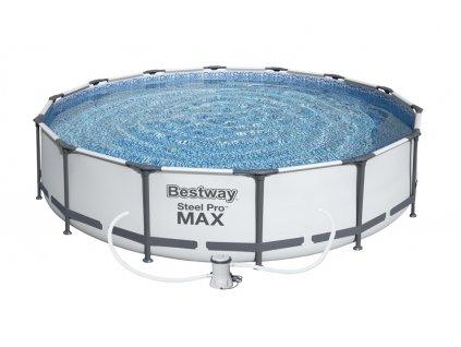 Bazén s konstrukcí 366 x 76 cm s filtrací  + ZDARMA Jednorázová rouška 25 ks v hodnotě 123 Kč