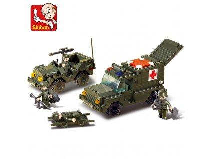 Auta vojenská sanita a terénní vůz M38-B6000