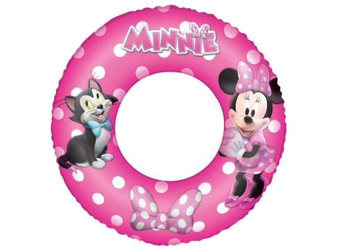 Nafukovací kruh myška Minnie 56 cm