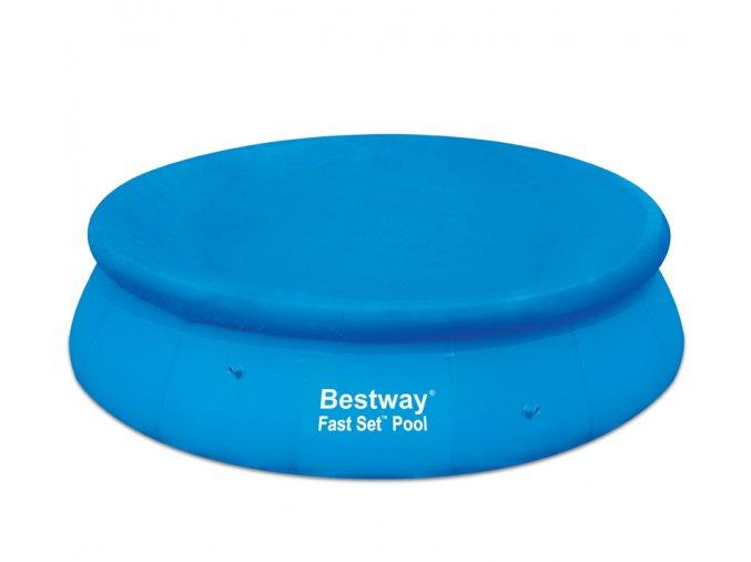 Plachta krycí Bestway na bazén 457 cm s nafukovacím okrajem