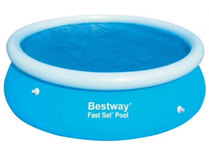Solární plachta na bazén 244 cm