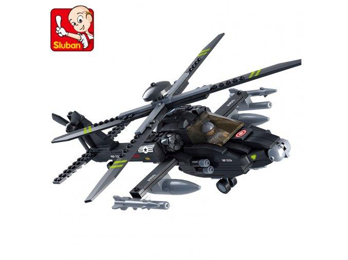 Helikoptéra černá M38-B0511