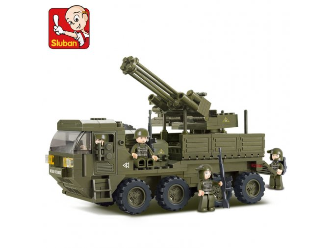 Auto vojenské protiletadlové M38-B0302