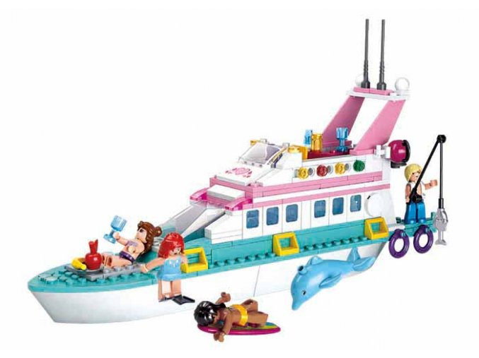 Loď prázdninová jachta M38-B0609
