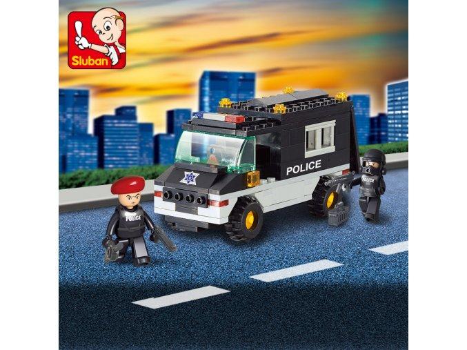 Auto policejní M38-B1600