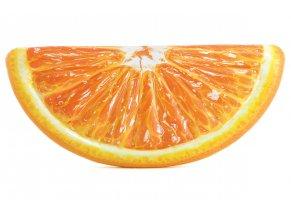Nafukovací matrace ovoce - pomeranč s 3D reálným potiskem