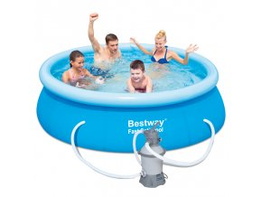 Bazén Fast Set 244 x 66 cm s pískovou filtrací