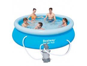 Bazén Fast Set 305 x 76 cm s pískovou filtrací