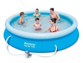 Bazén Fast Set 366 x 76 cm s kartušovou filtrací