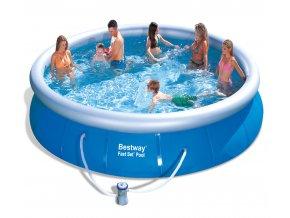 Bazén Fast Set 457 x 107 cm  s karušovou filtrací
