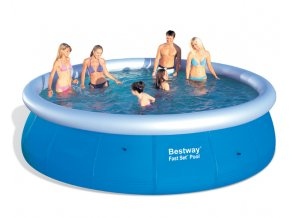 Bazén Fast Set 457 x 107 cm  + Deka Bestway PIKNIK WINDER