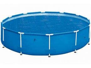 Solární plachta na bazén s konstrukcí 305 cm