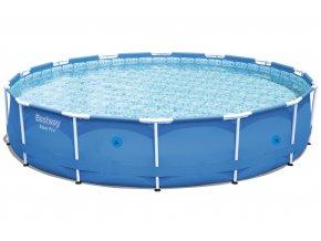 Bazén s konstrukcí 427 x 84 cm