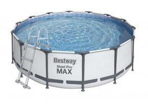 Bazén s konstrukcí 366 x 100 cm se schůdky