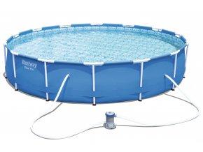 Bazén s konstrukcí 427 x 84 cm s filtrací a příslušenstvím