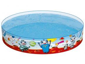 Dětský samostojný bazén 122 x 25 cm
