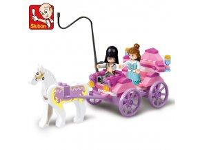 Princeznin kočár M38-B0239