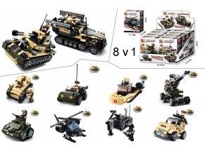 Set 8v1 vojenské techniky M38-B0587