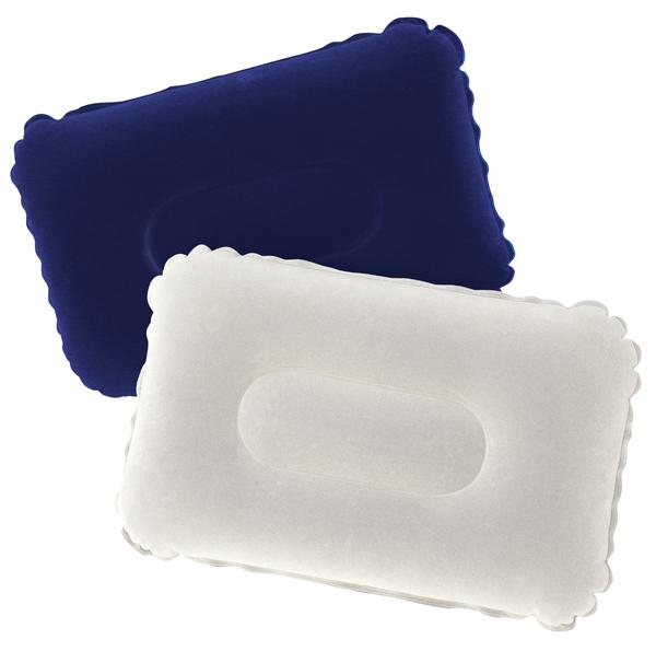 Nafukovací mikroplyšový polštářek Bestway 48 cm x 30 cm Barva: modrý