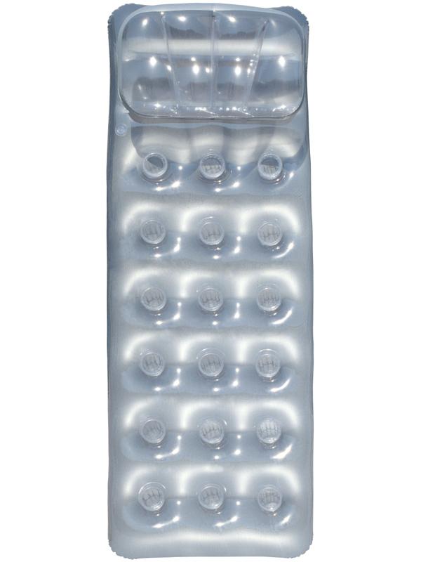 Nafukovací matrace Bestway stříbrná