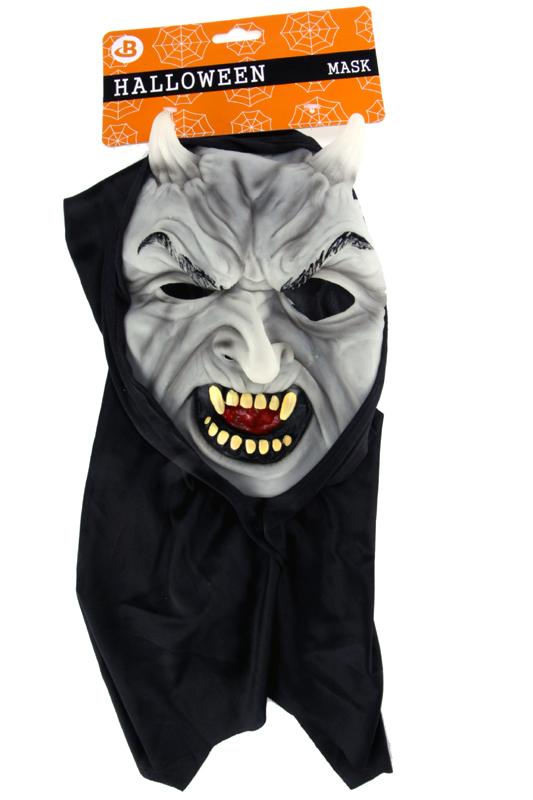 Maska čert svítí ve tmě přívětivý
