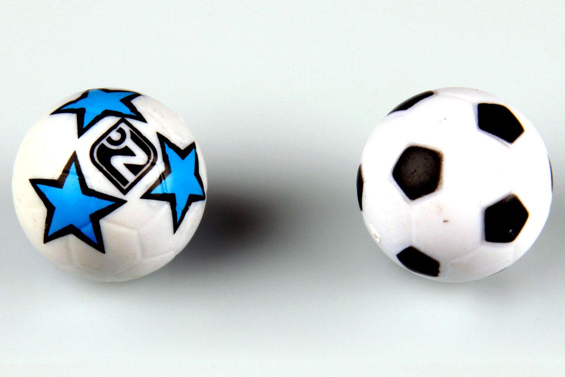 Náhradní míček do stolního fotbálku Velikost: Na fotbal SUPER S a SUPER M - průměr 27,8 mm