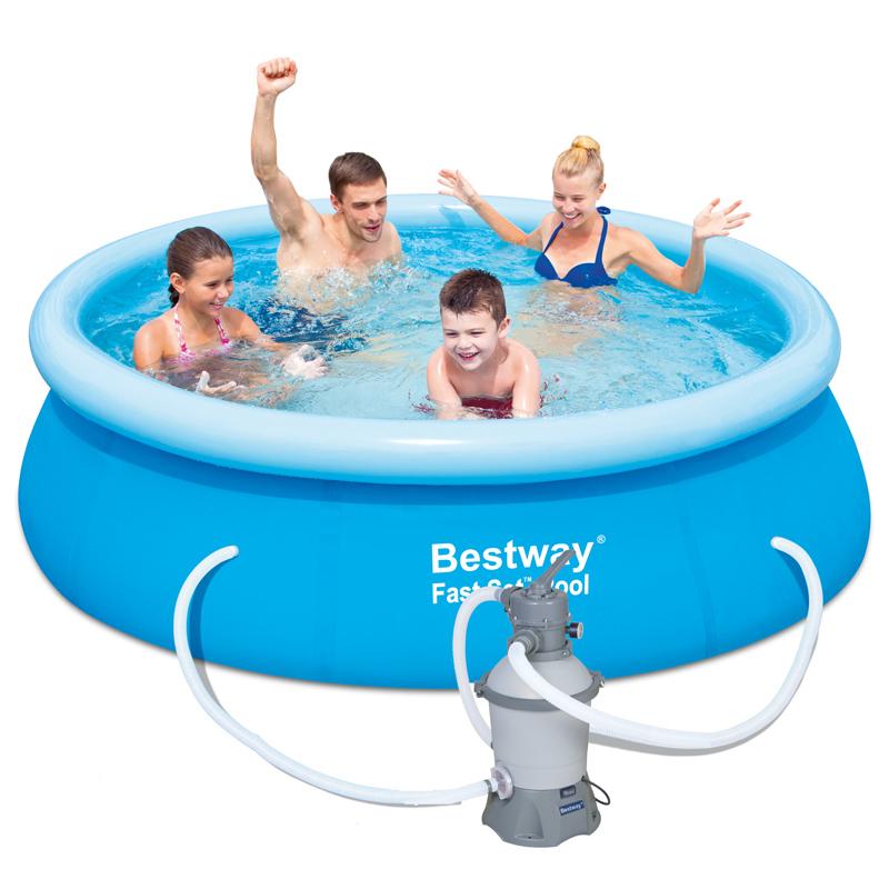 Bestway Bazén Fast Set 2,44 x 0,66 m s pískovou filtrací 57008
