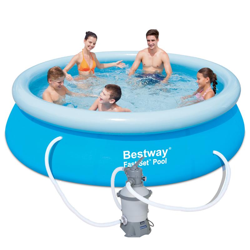 Bestway Bazén Fast Set 3,05 x 0,76 m s pískovou filtrací Standard 57269