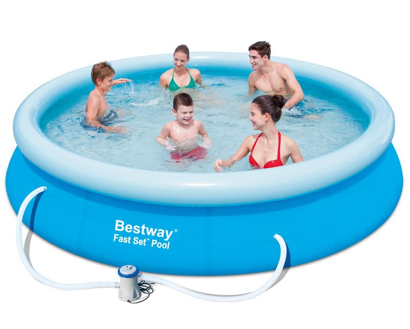 Bestway Bazén Fast Set 3,66 x 0,76 m s kartučovou filtrací 57274