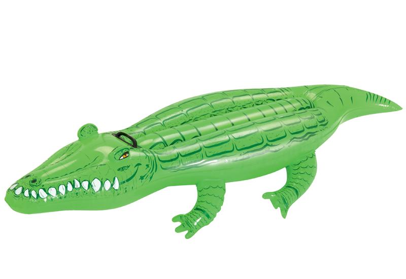 Nafukovací krokodýl 167 x 89 cm