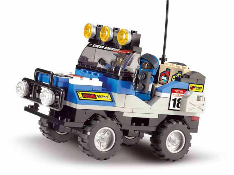 Terénní vůz modrý M38-B0131