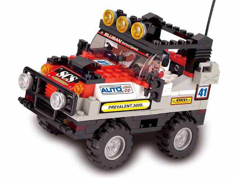 Terénní vůz červený M38-B0132