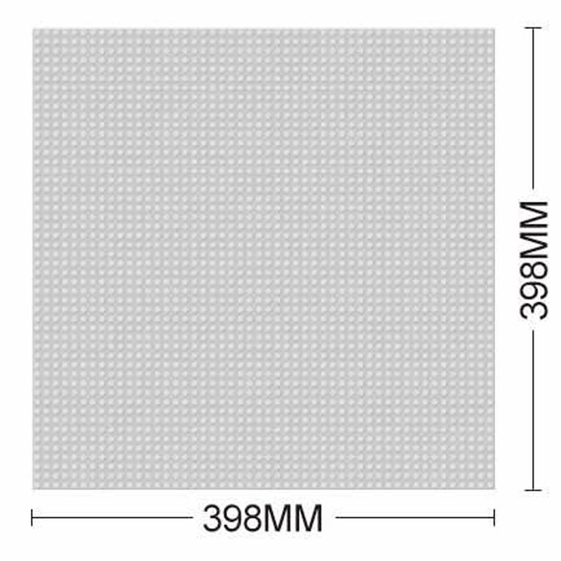 Základní deska šedá 39,8 x 39,8 cm M38-B0182