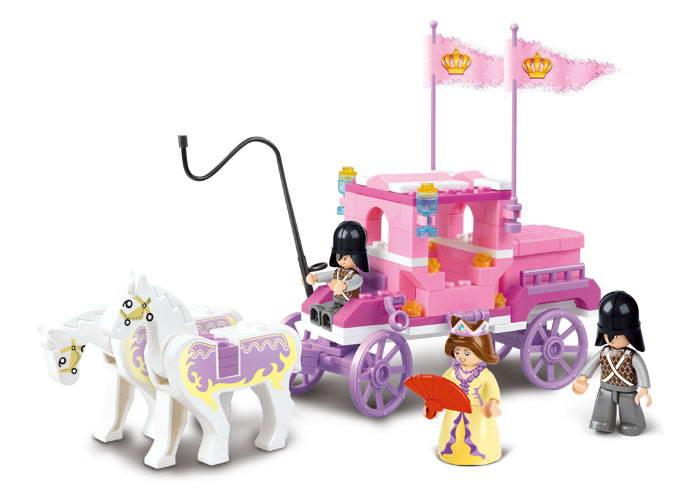Princeznin kočár M38-B0250