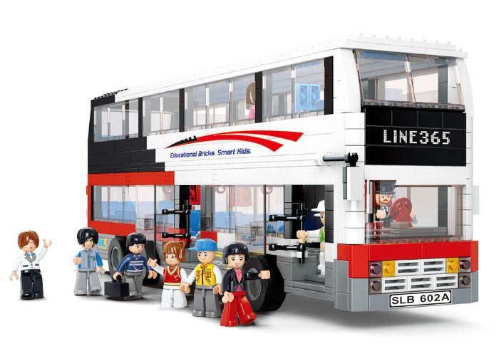 Dvoupatrový autobus velký M38-B0335