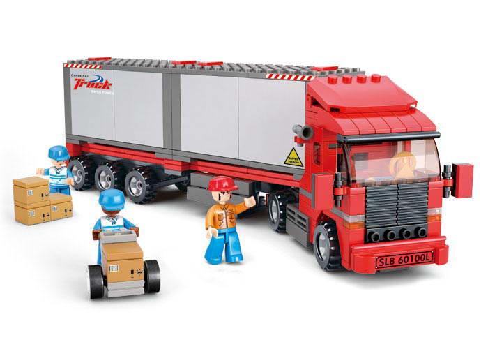 Kamion s nákladem M38-B0338