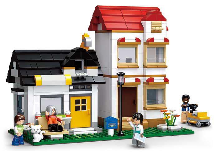 Dva městské domy M38-B0573