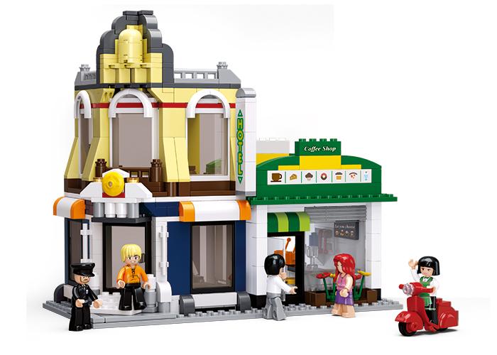 Hotel s kavárnou M38-B0575