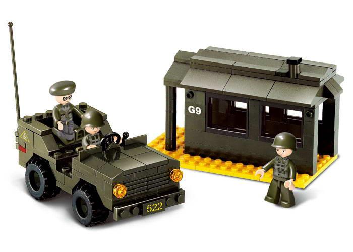 Vojenské terénní auto M38-B6100