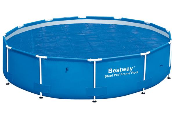 Bestway Solární plachta na bazén s konstrukcí 427 cm
