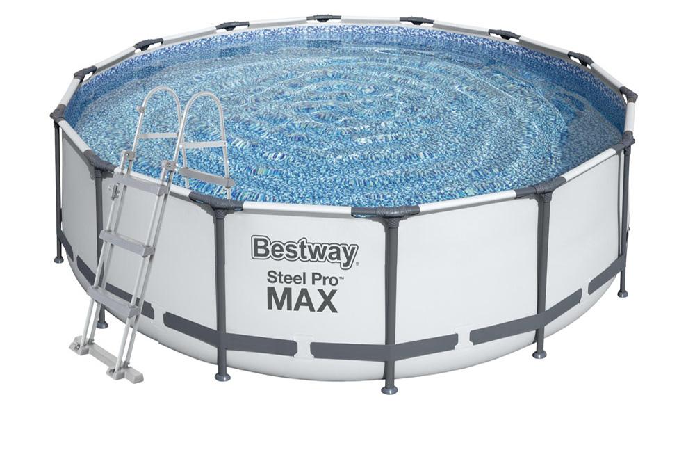 Bestway Bazén Steel Pro Frame 3,66 x 1 m se schůdky 56419