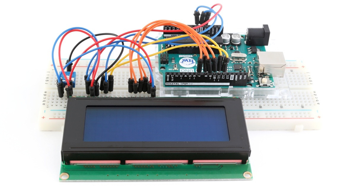 Práce s LCD je jednoduchá!
