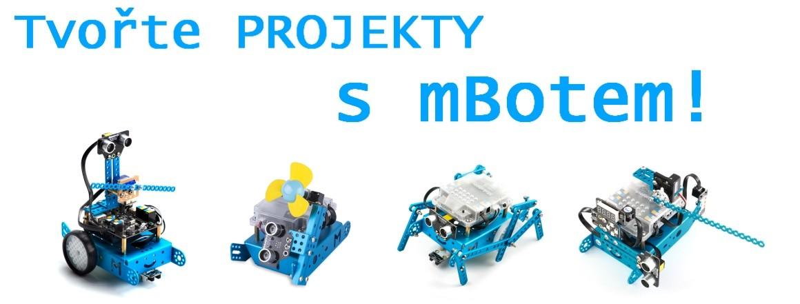 Rozšiřující stavebnice pro robota mBot