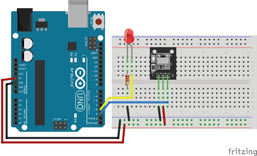 Zapojení IR LEDky a IR ovladače - Arduino návody