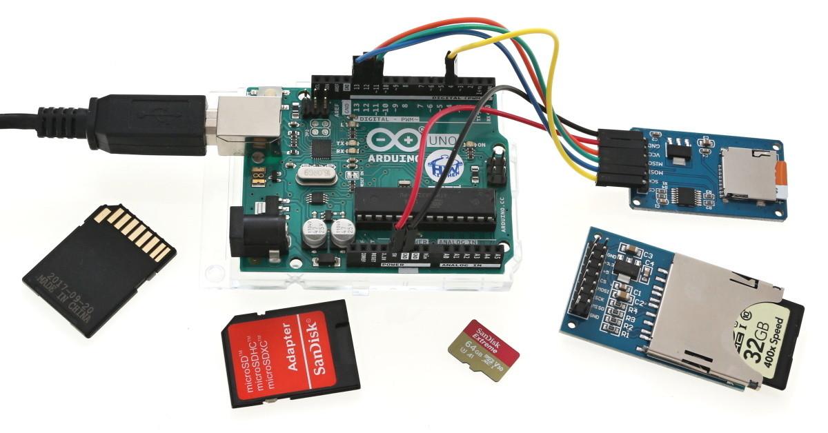 Návod na použití modulu SD karty