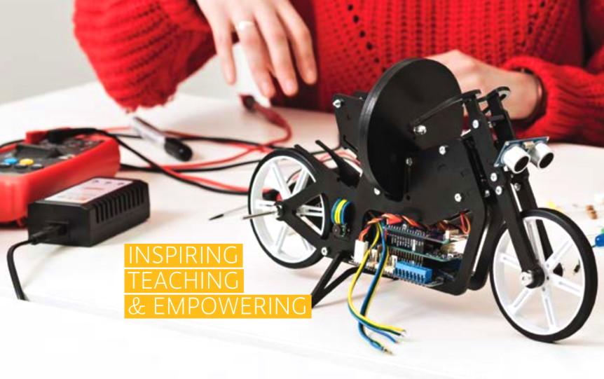 Arduino Engineering Kit pro podporu výuky