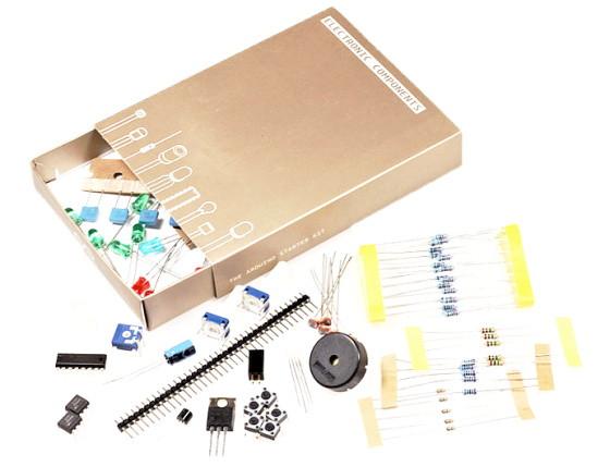 Arduino Starter Kit elektronické součástky