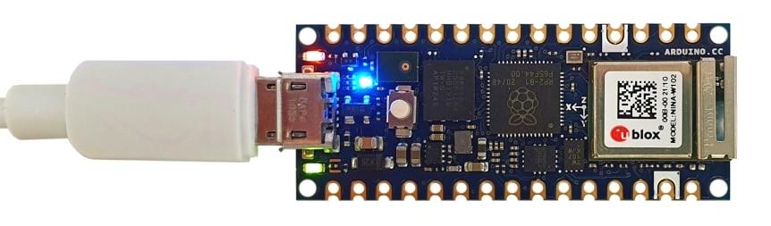 Arduino Nano RP2040 Connect test